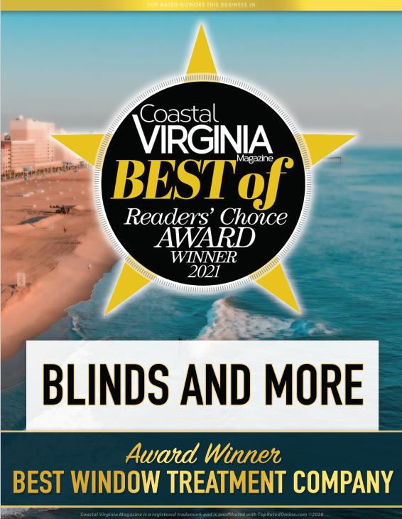 Best Of Virginia Reader's Choice Award